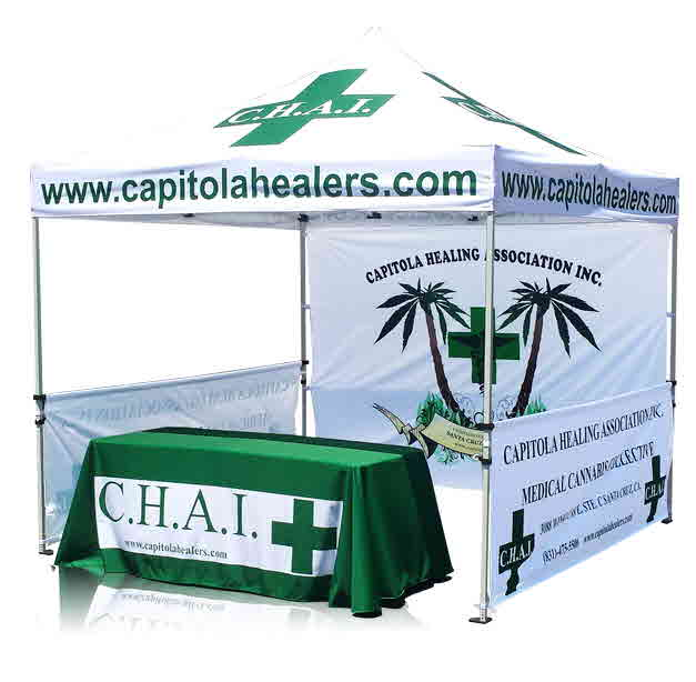 Vendor Tents and Marketing Tents