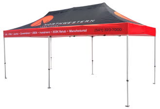 20x10 Custom Canopy Event Tent